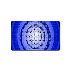 Abstract Background Blue Created With Layers Magnet (name Card)