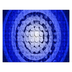 Abstract Background Blue Created With Layers Rectangular Jigsaw Puzzl