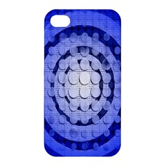 Abstract Background Blue Created With Layers Apple iPhone 4/4S Hardshell Case