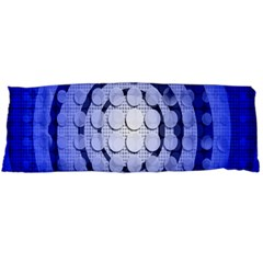 Abstract Background Blue Created With Layers Body Pillow Case Dakimakura (Two Sides)