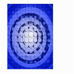 Abstract Background Blue Created With Layers Large Garden Flag (two Sides)