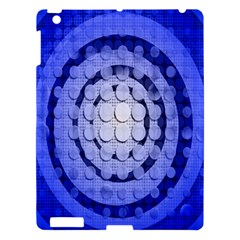 Abstract Background Blue Created With Layers Apple iPad 3/4 Hardshell Case