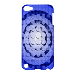 Abstract Background Blue Created With Layers Apple iPod Touch 5 Hardshell Case
