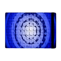 Abstract Background Blue Created With Layers Apple Ipad Mini Flip Case