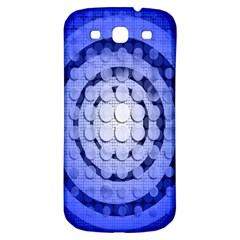 Abstract Background Blue Created With Layers Samsung Galaxy S3 S III Classic Hardshell Back Case