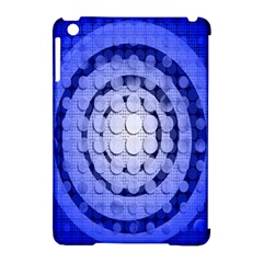 Abstract Background Blue Created With Layers Apple iPad Mini Hardshell Case (Compatible with Smart Cover)