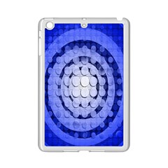 Abstract Background Blue Created With Layers iPad Mini 2 Enamel Coated Cases
