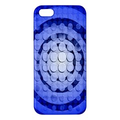 Abstract Background Blue Created With Layers Apple iPhone 5 Premium Hardshell Case