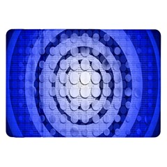 Abstract Background Blue Created With Layers Samsung Galaxy Tab 8.9  P7300 Flip Case