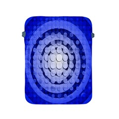 Abstract Background Blue Created With Layers Apple iPad 2/3/4 Protective Soft Cases