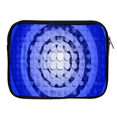 Abstract Background Blue Created With Layers Apple iPad 2/3/4 Zipper Cases