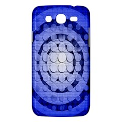 Abstract Background Blue Created With Layers Samsung Galaxy Mega 5.8 I9152 Hardshell Case