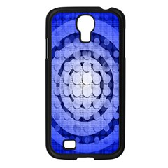 Abstract Background Blue Created With Layers Samsung Galaxy S4 I9500/ I9505 Case (Black)