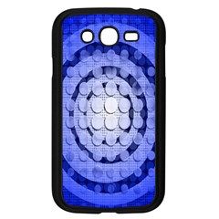 Abstract Background Blue Created With Layers Samsung Galaxy Grand DUOS I9082 Case (Black)
