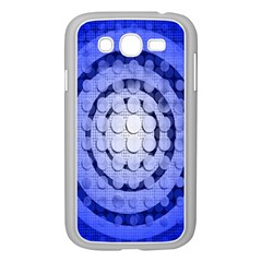 Abstract Background Blue Created With Layers Samsung Galaxy Grand Duos I9082 Case (white)