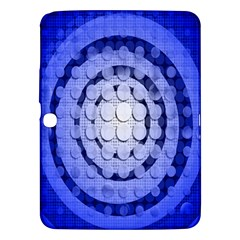 Abstract Background Blue Created With Layers Samsung Galaxy Tab 3 (10.1 ) P5200 Hardshell Case