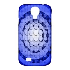 Abstract Background Blue Created With Layers Samsung Galaxy S4 Classic Hardshell Case (PC+Silicone)