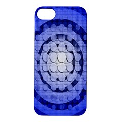 Abstract Background Blue Created With Layers Apple iPhone 5S/ SE Hardshell Case
