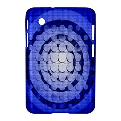 Abstract Background Blue Created With Layers Samsung Galaxy Tab 2 (7 ) P3100 Hardshell Case