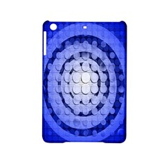 Abstract Background Blue Created With Layers Ipad Mini 2 Hardshell Cases