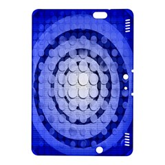 Abstract Background Blue Created With Layers Kindle Fire HDX 8.9  Hardshell Case
