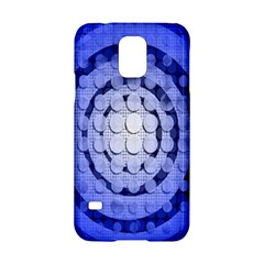 Abstract Background Blue Created With Layers Samsung Galaxy S5 Hardshell Case