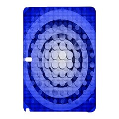 Abstract Background Blue Created With Layers Samsung Galaxy Tab Pro 10.1 Hardshell Case