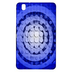 Abstract Background Blue Created With Layers Samsung Galaxy Tab Pro 8.4 Hardshell Case