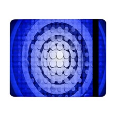 Abstract Background Blue Created With Layers Samsung Galaxy Tab Pro 8.4  Flip Case