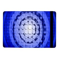 Abstract Background Blue Created With Layers Samsung Galaxy Tab Pro 10.1  Flip Case