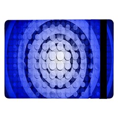 Abstract Background Blue Created With Layers Samsung Galaxy Tab Pro 12.2  Flip Case