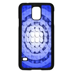Abstract Background Blue Created With Layers Samsung Galaxy S5 Case (Black)