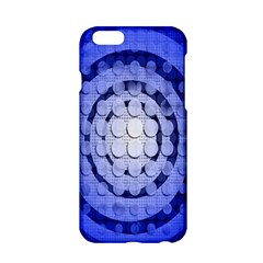 Abstract Background Blue Created With Layers Apple iPhone 6/6S Hardshell Case