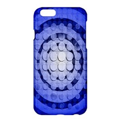 Abstract Background Blue Created With Layers Apple iPhone 6 Plus/6S Plus Hardshell Case