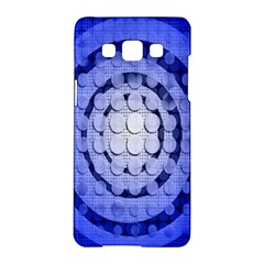 Abstract Background Blue Created With Layers Samsung Galaxy A5 Hardshell Case