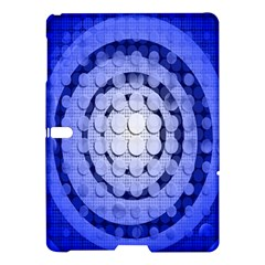 Abstract Background Blue Created With Layers Samsung Galaxy Tab S (10 5 ) Hardshell Case