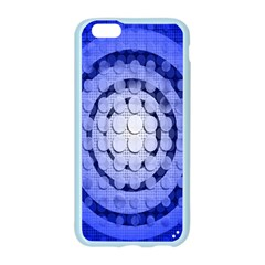 Abstract Background Blue Created With Layers Apple Seamless iPhone 6/6S Case (Color)