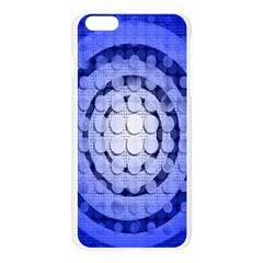 Abstract Background Blue Created With Layers Apple Seamless iPhone 6 Plus/6S Plus Case (Transparent)