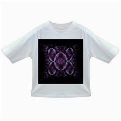 Fractal In Lovely Swirls Of Purple And Blue Infant/toddler T Shirts