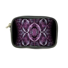 Fractal In Lovely Swirls Of Purple And Blue Coin Purse