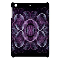 Fractal In Lovely Swirls Of Purple And Blue Apple iPad Mini Hardshell Case