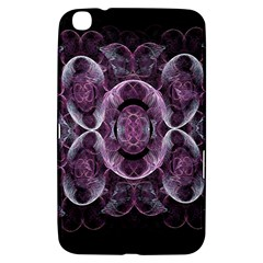 Fractal In Lovely Swirls Of Purple And Blue Samsung Galaxy Tab 3 (8 ) T3100 Hardshell Case
