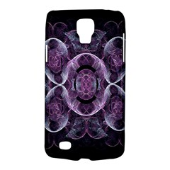Fractal In Lovely Swirls Of Purple And Blue Galaxy S4 Active