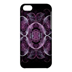 Fractal In Lovely Swirls Of Purple And Blue Apple iPhone 5C Hardshell Case