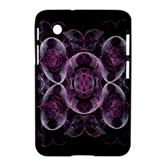 Fractal In Lovely Swirls Of Purple And Blue Samsung Galaxy Tab 2 (7 ) P3100 Hardshell Case