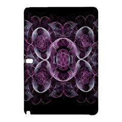 Fractal In Lovely Swirls Of Purple And Blue Samsung Galaxy Tab Pro 12 2 Hardshell Case