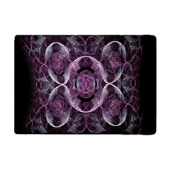 Fractal In Lovely Swirls Of Purple And Blue iPad Mini 2 Flip Cases