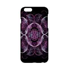 Fractal In Lovely Swirls Of Purple And Blue Apple iPhone 6/6S Hardshell Case