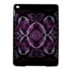 Fractal In Lovely Swirls Of Purple And Blue iPad Air 2 Hardshell Cases