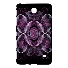 Fractal In Lovely Swirls Of Purple And Blue Samsung Galaxy Tab 4 (7 ) Hardshell Case